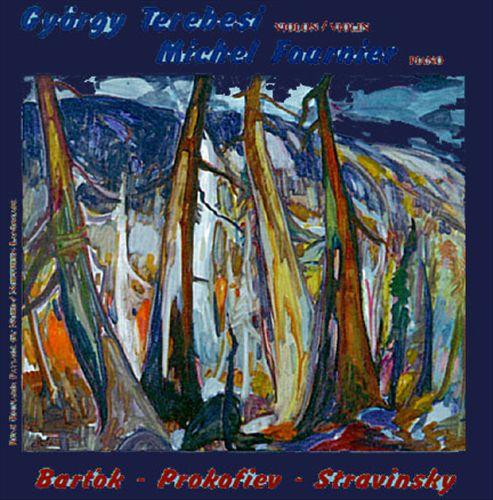 Bartok: Sonata No.2; Prokofiev: Sonata No.1; Stravinsky: Divertimento for Violin and Piano