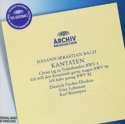 Bach: Cantatas, BWV 4, 56 & 82