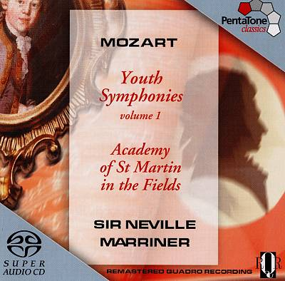 Mozart: Youth Symphonies, Vol. 1
