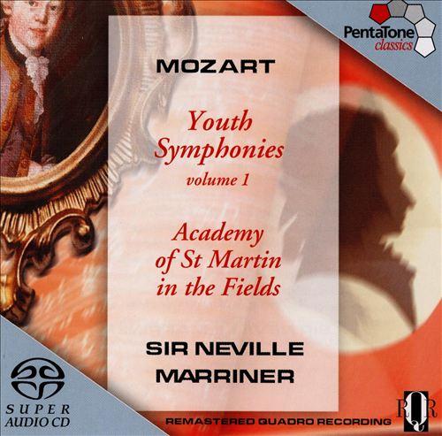 Mozart: Youth Symphonies, Vol. 1