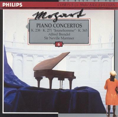"Mozart: Piano Concertos, K238, K271 (""Jeunehomme""), K365"