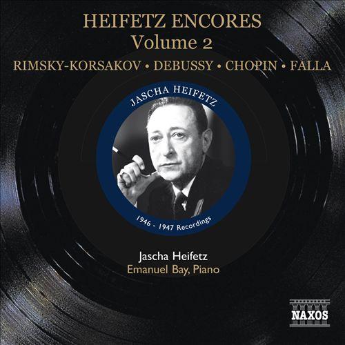 Heifetz Encores, Vol. 2