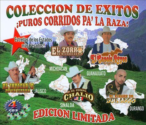 Corridos Pa' La Raza: Coleccion De Exitos