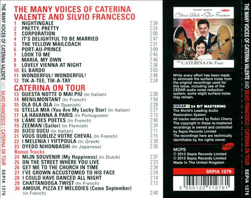The Many Voices of... Caterina Valente and Silvio Francesco/Caterina On Tour