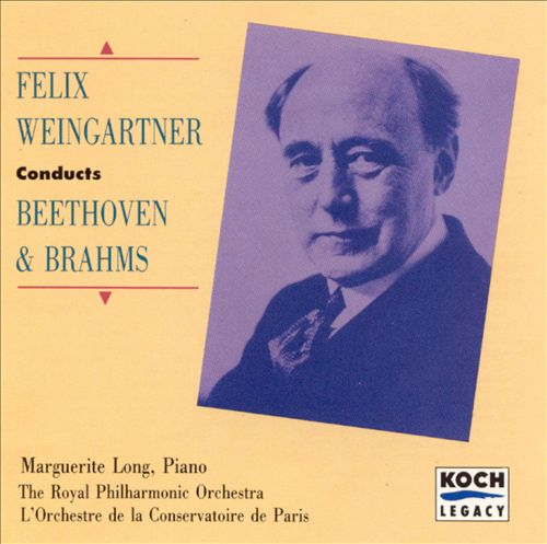 Felix Weingartner Conducts Beethoven & Brahms
