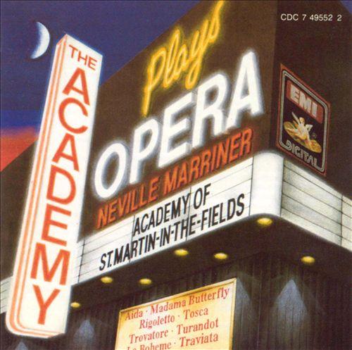 The Academy Plays Opera