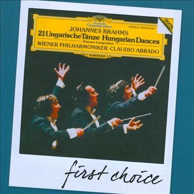 Brahms: 21 Ungarische Tänze