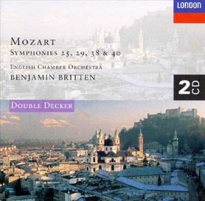 Mozart: Symphony Nos.25, 29, 38 & 40; Serenata Notturna In D Major