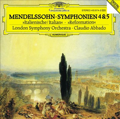 Mendelssohn: Symphonien 4 & 5