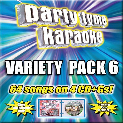 Party Tyme Karaoke: Variety Pack, Vol. 6