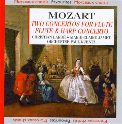 Mozart: Two Concertos for Flute; Flute & Harp Concerto