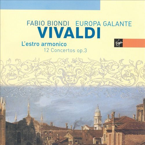 Vivaldi: L'Estro Armonico - 12 Concertos Op. 3