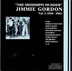 The Jimmie Gordon, Vol. 2: 1934-1941 - Mississippi Mudder