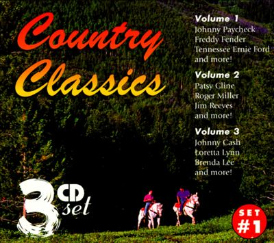 Country Classics Set #1: Vol. 1 - 3