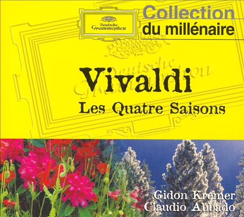 The Four Seasons (Il quattro stagione), 4 concertos for violin, strings & continuo, Op. 8/1-4 (