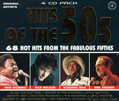 Hits of the 50's: 68 Hot Hits from the Fabulous Fifties, Vols. 1-4
