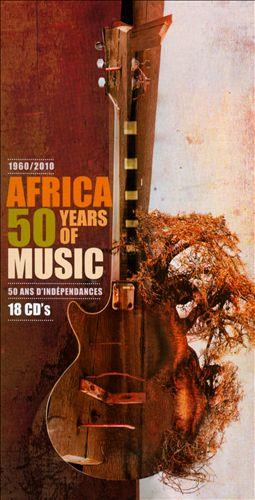 Africa - 50 Years Independence 1960-2010 (20CD/Book)Bonus ed