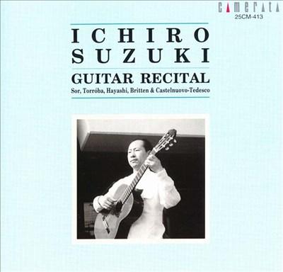 Ichiro Suzuki Guitar Recital