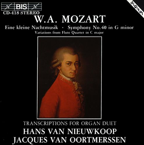 Mozart: Transcriptions for Organ Duet