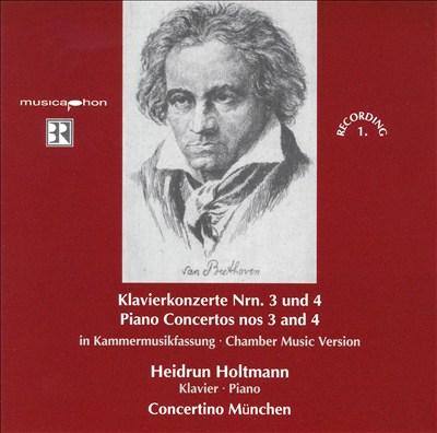 Beethoven: Klavierkonzerte Nrn. 3 und 4
