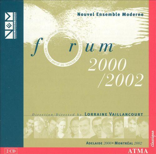 Forum 2000 / 2002
