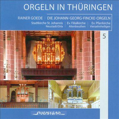 Orgeln in Thüringen, Vol. 5