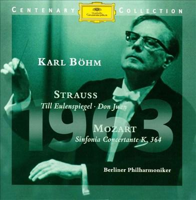 Strauss: Salome; Don Juan; Till Eulenspiegel; Mozart: Sinfonia concertante, K364