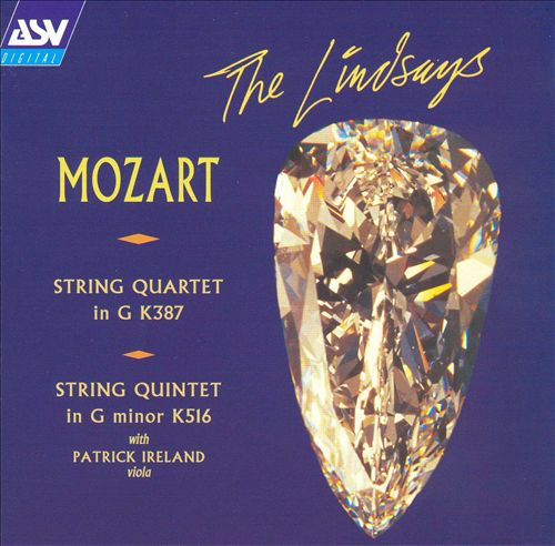 Mozart: String Quartet in G, K 387; String Quintet in G minor, K 516