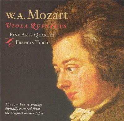 Mozart: Viola Quintets