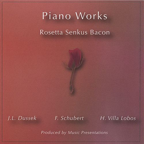 Dussek, Schubert, Villa Lobos: Piano Works