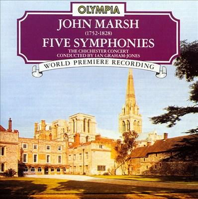Marsh: Five Symphonies
