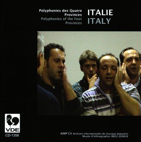 Italie: Polyphonies des Quatre Provinces