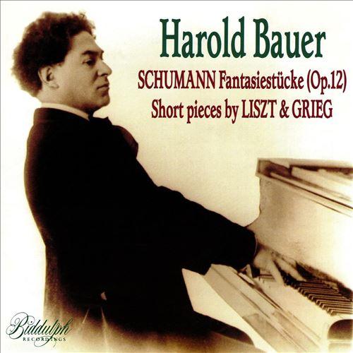 Schumann: Fantasiestücke; Liszt & Grieg: Short pieces
