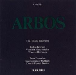 Arvo Pärt: Arbos