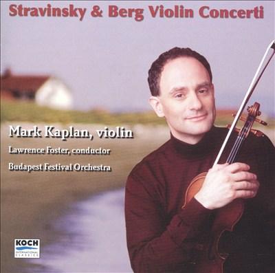 Stravinsky & Berg: Violin Concerti