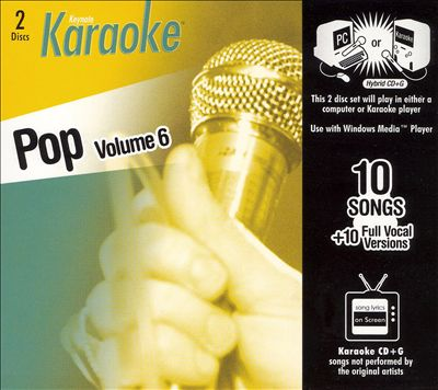 Keynote Karaoke: Pop, Vol. 6