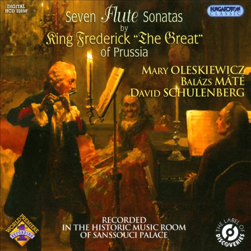 Seven Flute Sonatas by King Frederick