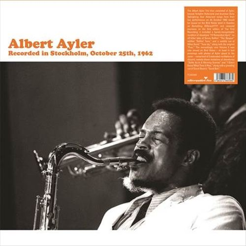 Recorded in Stockholm, October 25, 1962