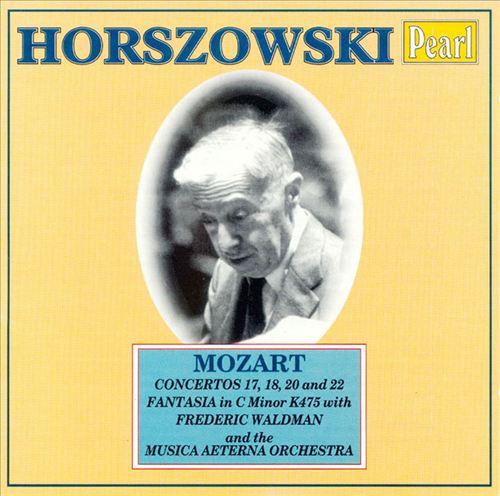 Horszowski plays Mozart Concertos Vol.2