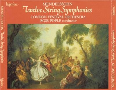 Mendelssohn: Twelve String Symphonies