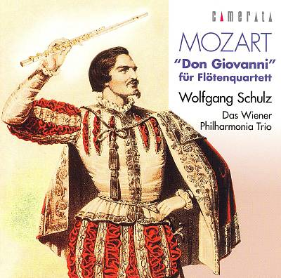 Mozart: Don Giovanni für Flotenquartett