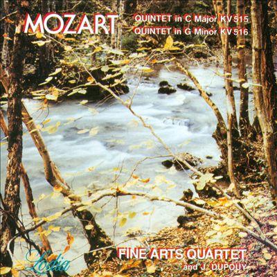 Mozart: Quintet in C Major KV 515; Quintet in G minor KV 516
