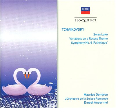 Tchaikovsky: Swan Lake; Variations on a Rococo Theme; Symphony No. 6 'Pathétique'