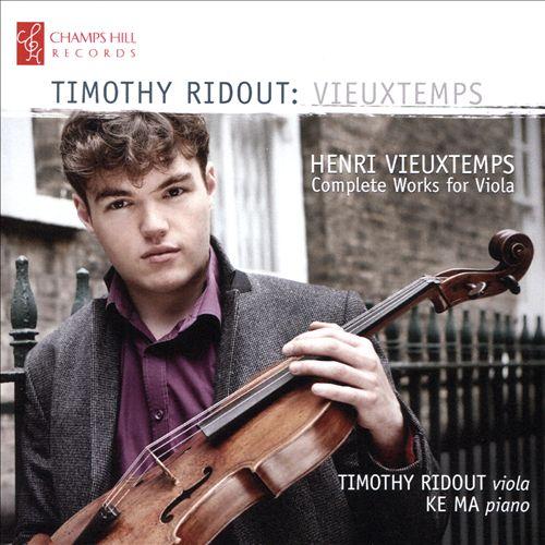 Henri Vieuxtemps: Complete Works for Viola