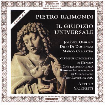 Pietro Raimondi: Il Giudizio Universale