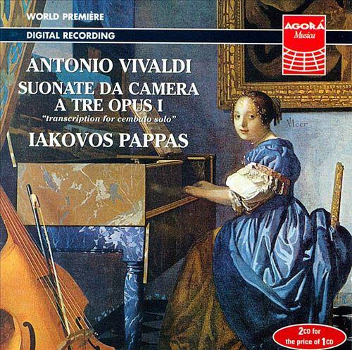 Vivaldi: Suonate da camera a tre opus 1