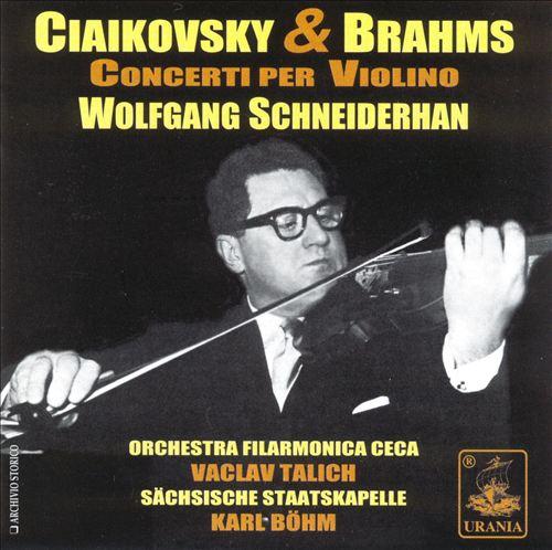 Ciaikovsky & Brahms: Concerti per Violino