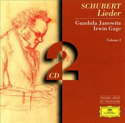 Franz Schubert: Lieder, Vol. 2