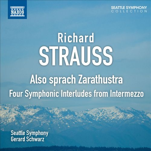 Richard Strauss: Also Sprach Zarathustra; Four Symphonic Interludes from Intermezzo