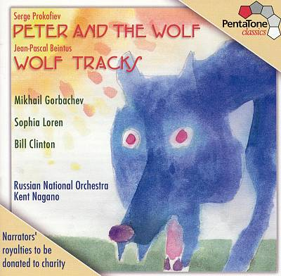 Serge Prokofiev: Peter and the Wolf; Jean-Pascal Beintus: Wolf Tracks
